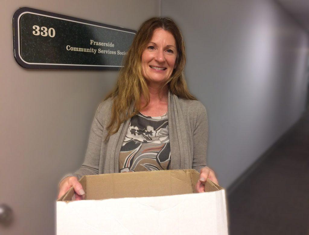 Brenda Blanchard, Fraserside's new manager of Community Living.