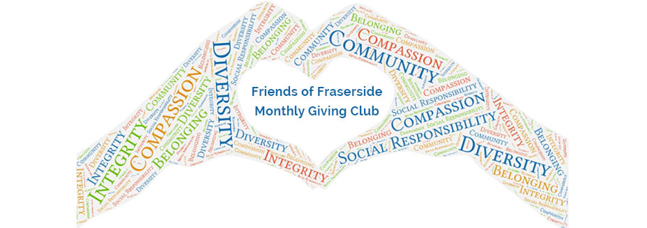 Fraserside launches Monthly Giving Club Featured Image